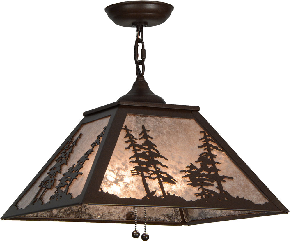 Delightful And Simple Rustic Pendant Lighting Placement