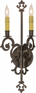 Meyda Tiffany 117925 Aneila Gilded Tobacco Wall Light Fixture