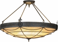 Meyda Tiffany 121246 Halcyon French Bronze / Caramel Onyx Ceiling Lighting