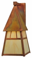 Meyda Tiffany 128875 Stillwater Double Bar Mission Craftsman 7.4  Wide Exterior Wall Sconce