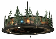 Meyda Tiffany 138252 Tall Pines 91.5  Tall Ceiling Lighting Fixture