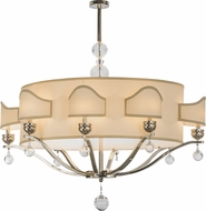 Meyda Tiffany 141785 Helena Polished Nickel Lighting Chandelier