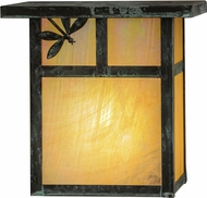 Meyda Tiffany 146927 Hyde Park T Mission Bai Verd Wall Light Sconce