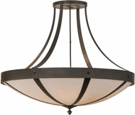 Meyda Tiffany 148832 Urban Spoked Oil Rubbed Bronze Ceiling Lighting Fixture