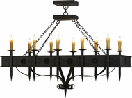Meyda Tiffany 151155 Calandra Wrought Iron Island Lighting