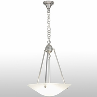 Meyda Tiffany 151736 Revival Frosted Frosted Clear Fluorescent Hanging Light