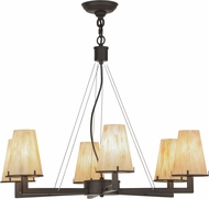 Meyda Tiffany 152197 St. Lawrence Modern Oil Rubbed Bronze Chandelier Lighting