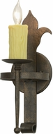 Meyda Tiffany 153172 Marthe Calandra Gilded Tobacco Sconce Lighting