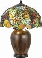 Meyda Tiffany 153524 Vinifera Tiffany Table Top Lamp