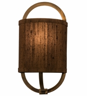 Meyda Tiffany 154055 Cilindro Alta Antique Copper Wall Mounted Lamp