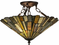 Meyda Tiffany 155108 Delta Jadestone Tiffany Home Ceiling Lighting