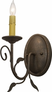 Meyda Tiffany 155857 Bordeaux Gilded Tobacco Wall Light Sconce