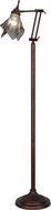 Meyda Tiffany 156568 Metro Fusion Super Nova Contemporary Smoke Bas Relief Floor Lamp Lighting