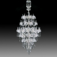 Meyda Tiffany 160126 Maya Crystal / Chrome Ceiling Chandelier