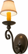 Meyda Tiffany 160718 Wallis Gilded Tobacco Least Light Sconce