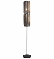 Meyda Tiffany 162941 Ausband Turbine Steel / Old Wrought Iron Floor Light