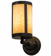 Meyda Tiffany 163967 Fulton Prime Beige Lighting Sconce