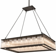 Meyda Tiffany 164300 Marquee Modern Oil Rubbed Bronze Island Light Fixture