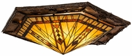 Meyda Tiffany 167962 Sonoma Birch Tiffany Ceiling Lighting
