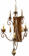Meyda Tiffany 169773 Minuet Autumn Leaf Lighting Sconce