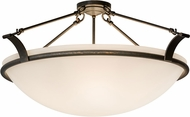 Meyda Tiffany 172200 Almeria Gilded Tobacco Ceiling Lighting Fixture