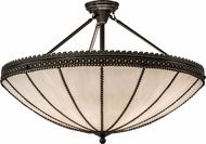 Meyda Tiffany 172645 Shansky Craftsman Brown Highlight Flush Lighting