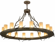 Meyda Tiffany 172808 Loxley Branches Rustic Chandelier Lamp