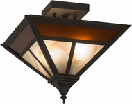 Meyda Tiffany 174095  T  Mission Tiffany Oil Rubbed Bronze Home Ceiling Lighting