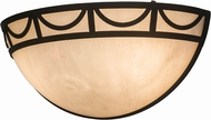 Meyda Tiffany 174302 Carousel Oil Rubbed Bronze Lamp Sconce