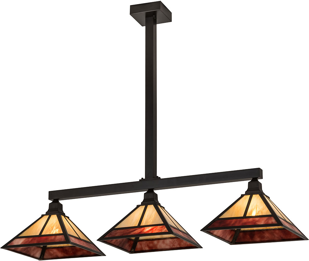 Tiffany Kitchen Lighting Meyda Tiffany 174448 T Mission Tiffany Craftsman Brown