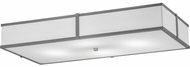 Meyda Tiffany 174684 Quadrato Nickel LED Ceiling Light