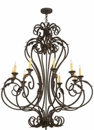 Meyda Tiffany 176434 Josephine Gold Hi-Lite w/ Accent Gold Chandelier Light
