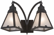 Meyda Tiffany 177244 Arnage Timeless Bronze Lighting Sconce