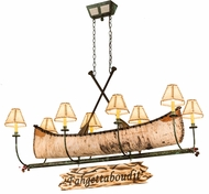Meyda Tiffany 177248 Country Tarnished Copper Arms & Body Antique Copper Island Light Fixture