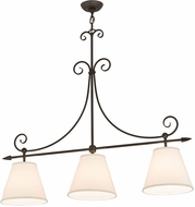 Meyda Tiffany 178065 Marselle Textrene Kitchen Island Lighting