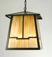 Meyda Tiffany 19802 Stillwater Valley View Craftsman Timeless Bronze Finish 27  Wide Foyer Outdoor Drop Ceiling Lighting