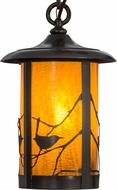 Meyda Tiffany 44812 Fulton Song Bird Country Ha Craftsman Mini Hanging Light