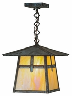 Meyda Tiffany 45003 Stillwater Cross Mission Craftsman 43  Tall Exterior Foyer Lighting Pendant