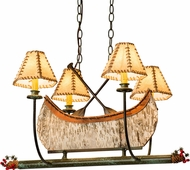 Meyda Tiffany 50944 Canoe Country Tarnished Copper Island Light Fixture