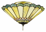 Meyda Tiffany 71007 Jadestone Carousel Tiffany 12  Wide Ceiling Light