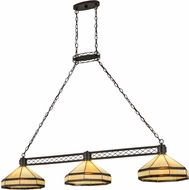Meyda Tiffany 72558 Top Ridge Tiffany Timeless Bronze Kitchen Island Light