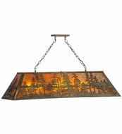 Meyda Tiffany 81888 Tall Pines Antique Copper Finish 43  Tall Kitchen Island Lighting