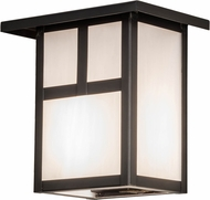 Meyda Tiffany 89690 Hyde Park  T  Mission Craftsman Ca Craftsman Exterior Wall Sconce Lighting