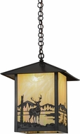 Meyda Tiffany 96327 Seneca Deer Creek Bai Craftsman Lighting Pendant