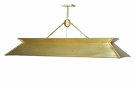 Meyda Tiffany 99919 Natural Brass Transitional Natural Brass Finish 60  Wide Island Lighting