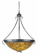 Meyda Tiffany 99989 Tiffany Autumn Leaf 21.75  Tall Ceiling Light Pendant