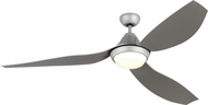 Monte Carlo Fans 3AVMR64GRYD Avvo Max Contemporary Grey LED 64  Ceiling Fan