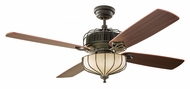 Monte Carlo Fans 4AIR52DBD Aviary Dark Bronze 52 Inch Wide Ceiling Fan