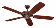 Monte Carlo Fans 5CO52TB Colony Tuscan Bronze 52 Inch Wide Ceiling Fan