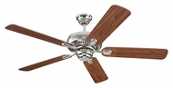 Monte Carlo Fans 5CQ52PN Centro Polished Nickel 52 Inch Wide Ceiling Fan